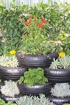 The 25+ Best Tire Garden Ideas On Pinterest | Tire Planters, Old Tire  Planters And Garden Ideas Using Tires