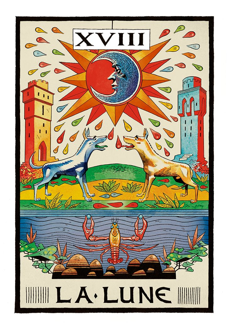 17 Best Images About Tarot--moon On Pinterest