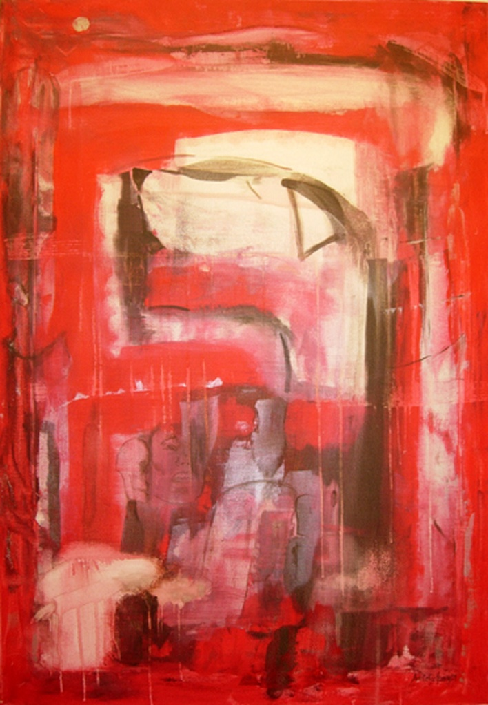 Alarmen går! | painting - Amalie Ree