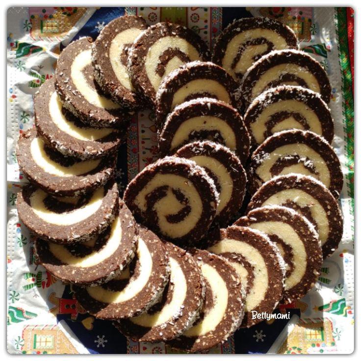 Kókuszos keksztekercs | Betty hobbi konyhája