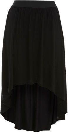 #missselfridge.com        #Skirt                    #Black #Jersey #Dippy #Skirt                        Black Jersey Dippy Skirt                            http://www.seapai.com/product.aspx?PID=1062918