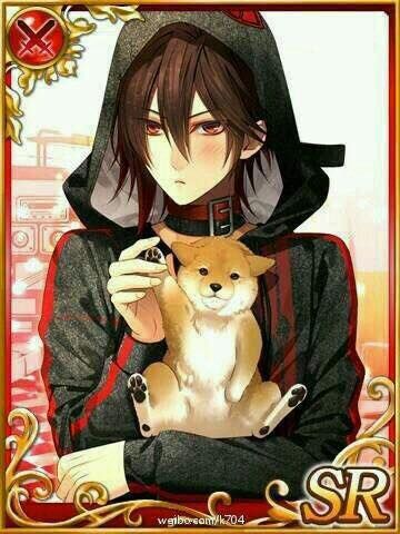 He reminds me of Kasuka from Durarara... But I don't know what he's actually from. He's cute tho~