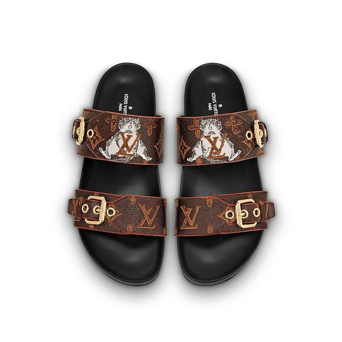 e51ebe1746c Bom Dia Flat Mule in 2019 | Wish list | Louis vuitton, Flat mules ...