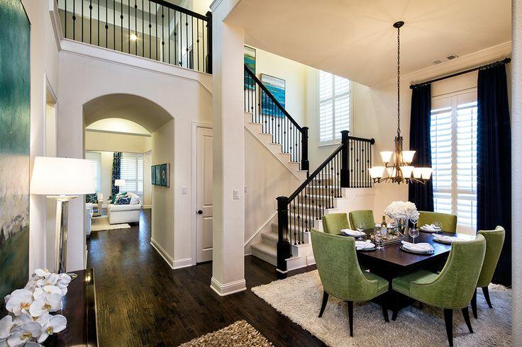 Highland Homes Villas At The Studio Dining Room Las Colinas Tx Plan 537 Dining Rooms