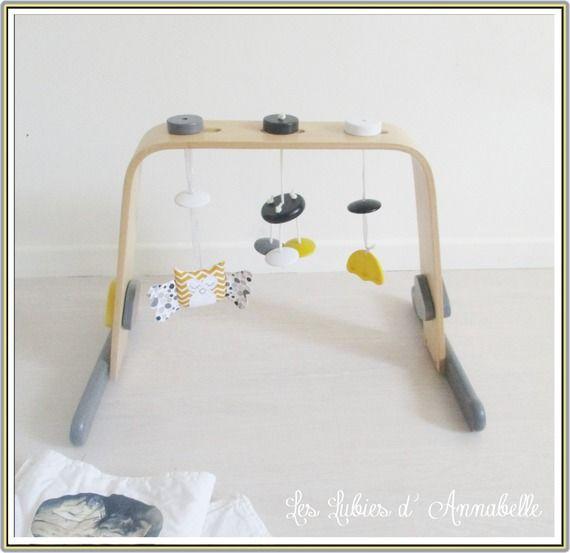 les 25 meilleures id es de la cat gorie portique d veil sur pinterest portique bebe bois. Black Bedroom Furniture Sets. Home Design Ideas