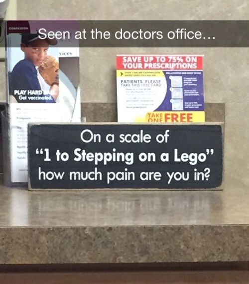 At the doctor's office...                                                                                                                                                                                 More