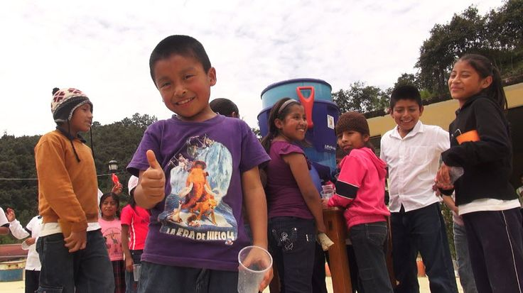LifeStraw Community providing school children with safe water in Mexico