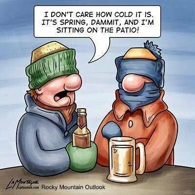 Image result for i dont care how cold it is it's springtime