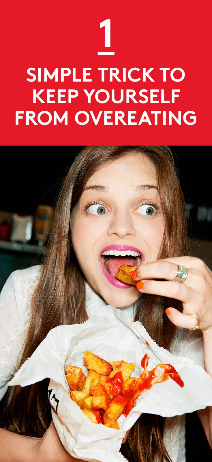 1 Simple Trick to Keep Yourself From Overeating | And the answer to why you always find yourself snacking.