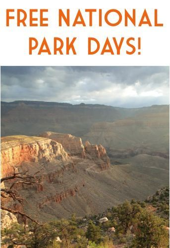 Free National Park Days for 2015! #travel #thefrugalgirls