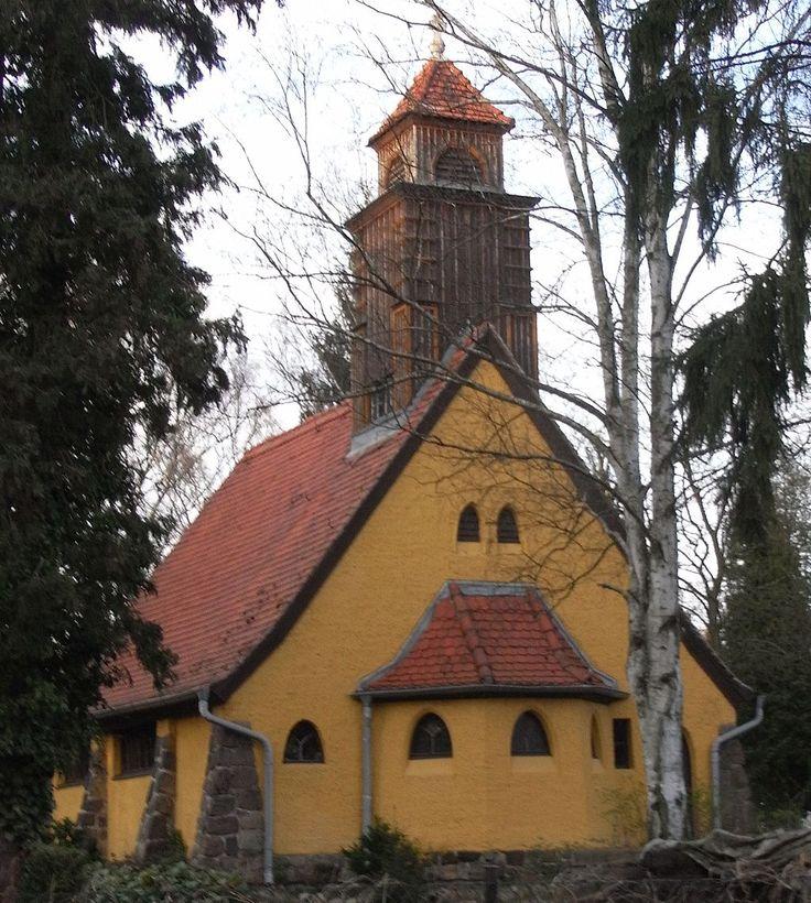 Friedhofskapelle Glienicke - Expressionismus (Architektur) – Wikipedia