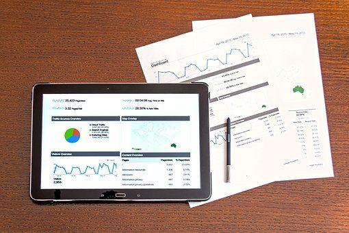 分析, 业务, 图表, 计算机, 概念, 数据, 办公桌, 设备