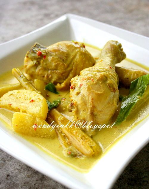 Table for 2.... or more: Ayam Masak Lemak Cili Api ~ Chicken in Bird's Eye Chilli and Coconut Gravy - MFF N9#1