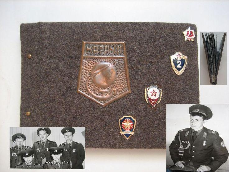 USSR Soldier Soviet Army Photo album Demobilization  45 foto 1984 -1986