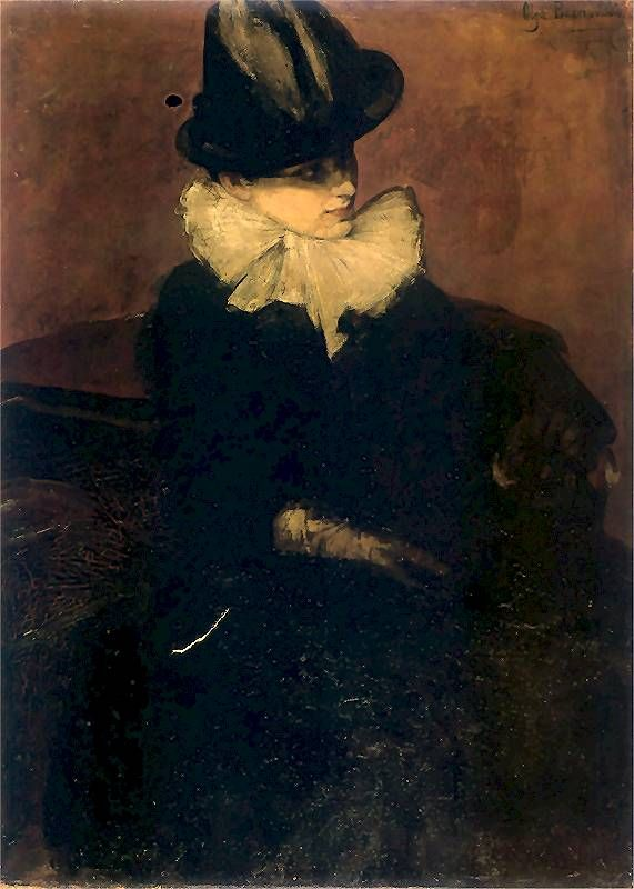 Olga Boznańska - Portret kobiety (1888)