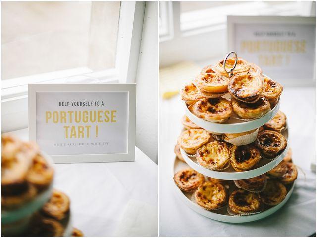 "Pasteis de Nata- Portuguese custard tarts = perfect elopement ""cake"""