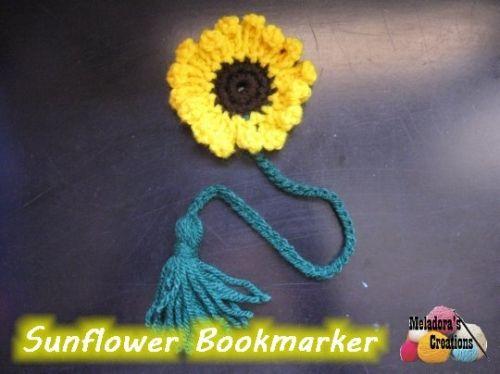 Sunflower Book Marker 600 WM