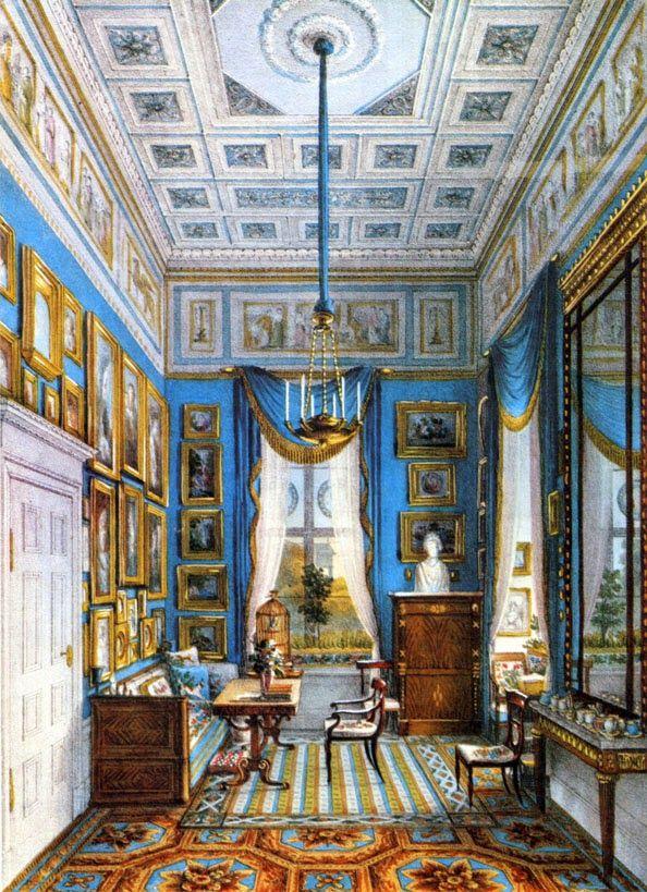 Sitting Room Of Countess Liegnitz, The Morganatic Wife Of King Friedrich  Wilhelm III, 1824