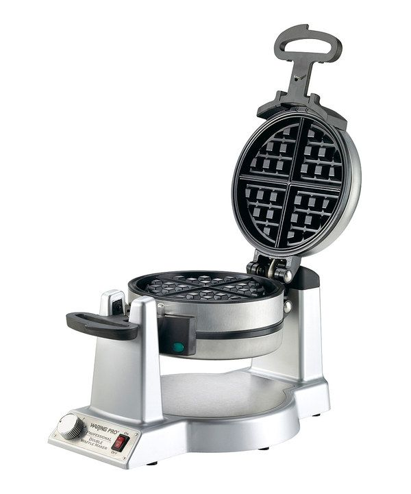 Look at this Double Belgian Waffle Maker on #zulily today!