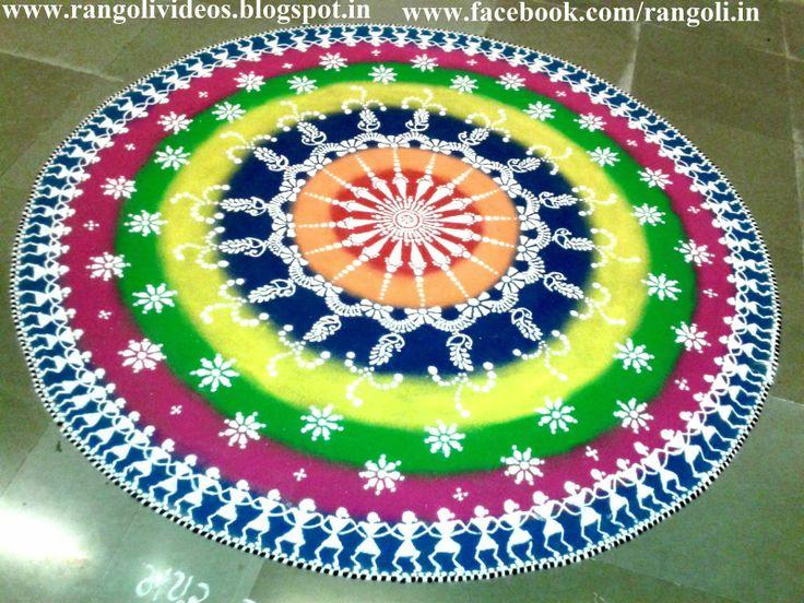 Diwali Rangoli Designs Kolam designsVideos: Diwali Rangoli 2013