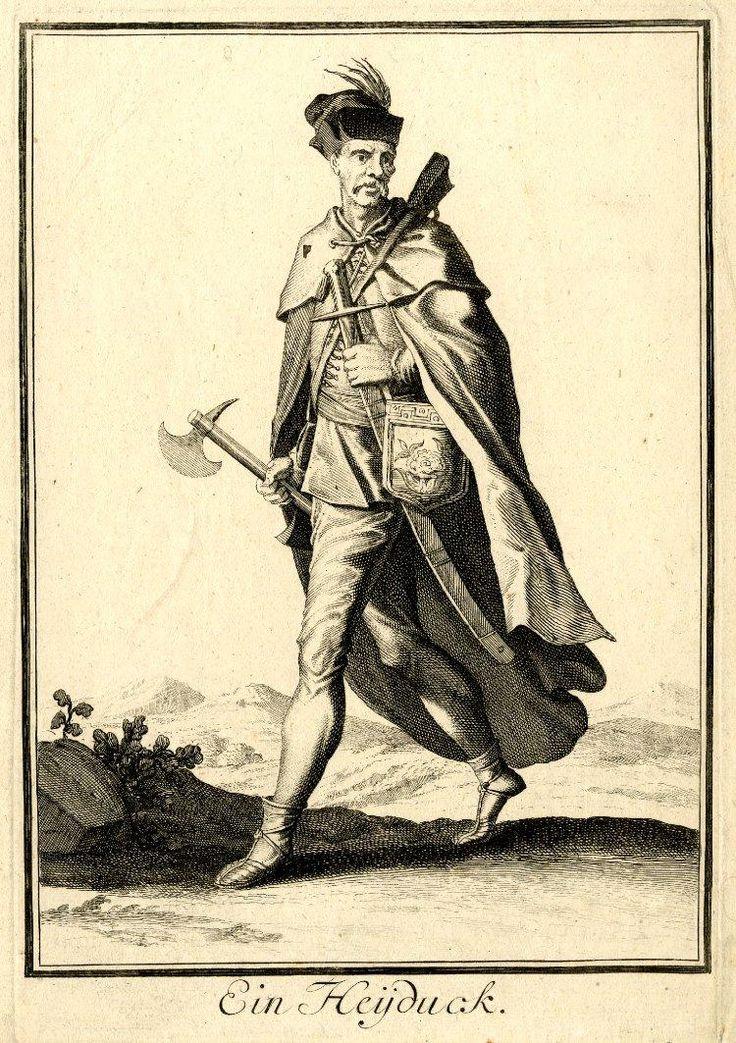 A Haiduk, by Caspar Luyken.