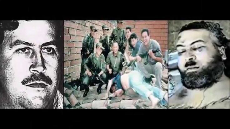 """Pablo Escobar """"O patrão do mal."""" Colombia."""