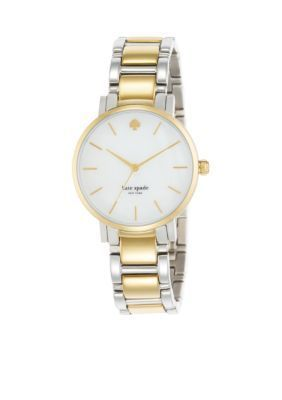 kate spade new york Two Tone Two-Tone Gramercy Watch