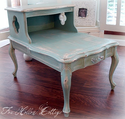 Genial You Can Do This With An Old End Table And Chalk Paint.