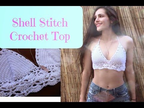 Brandy Melville Inspired Crochet Bralette YVETTE's INFO: https://www.youtube.com/user/yvettepolanka -Channel Collaboration video: https://www.youtube.com/wat...