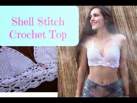 Brandy Melville Inspired Crochet Bralette YVETTE's INFO: https://www.youtube.com/user/yvettepolanka -Channel Collaboration video: https://www.youtube.com/wat...