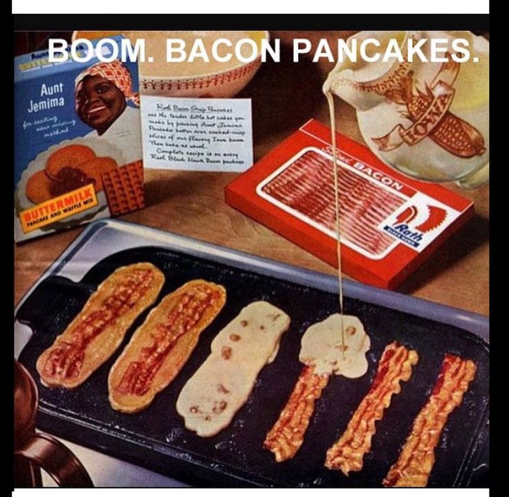 Diy bacon pannenkoek
