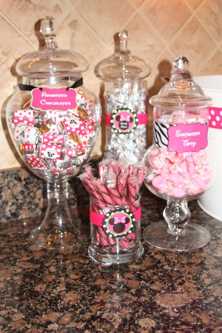 Minnie Candy Display