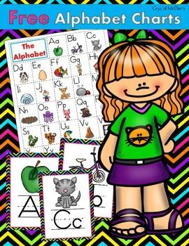I created this set of alphabet charts to use in my classroom during guided reading. I will also create a classroom display with the posters. Enjoy!