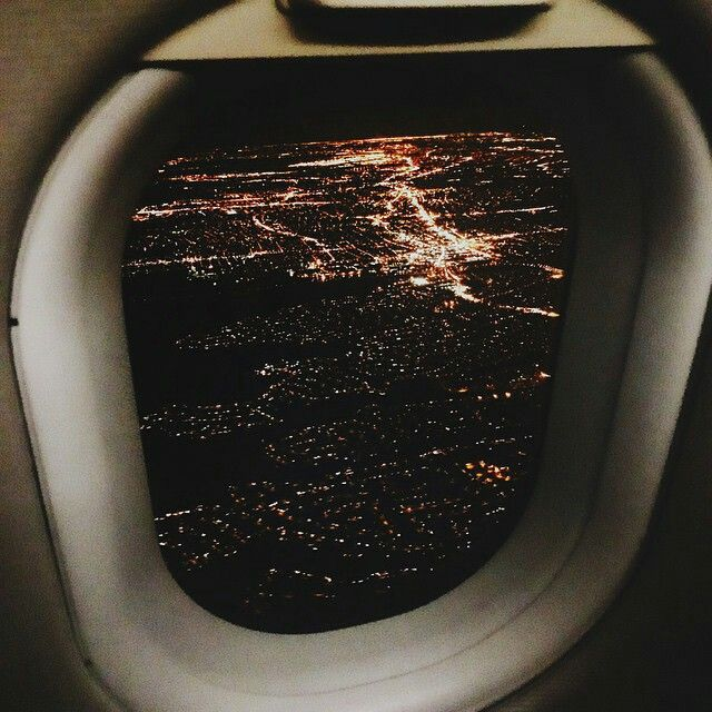 #plane #window #tumblr #city