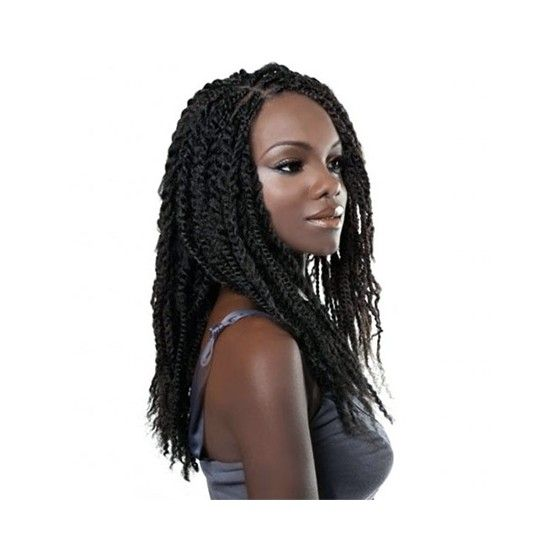 Mèches synthétiques Soft Marley Braid - Isis Faux Remi Mèches à tresser synthétiques. Mèches de cheveux 100% Kanekalon et ignifuge (ininflammable). Mélange de texture très proche des cheveux humains. Fibre douce, soyeuse, brillante et mince.