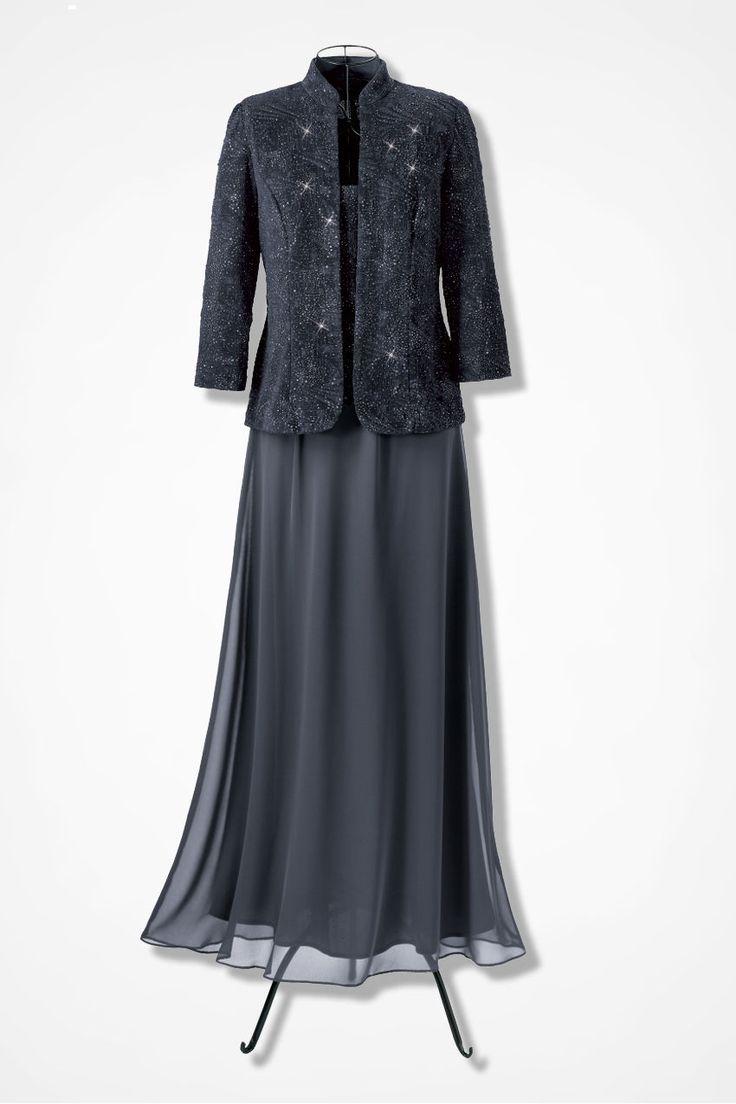 Quot Twilight Jacket Dress By Alex Evenings Quot Coldwater Creek