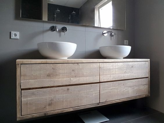 25 beste idee n over badkamer lades op pinterest badkamer lade organisatie zilverwerk opslag - Mooie eigentijdse badkamer ...