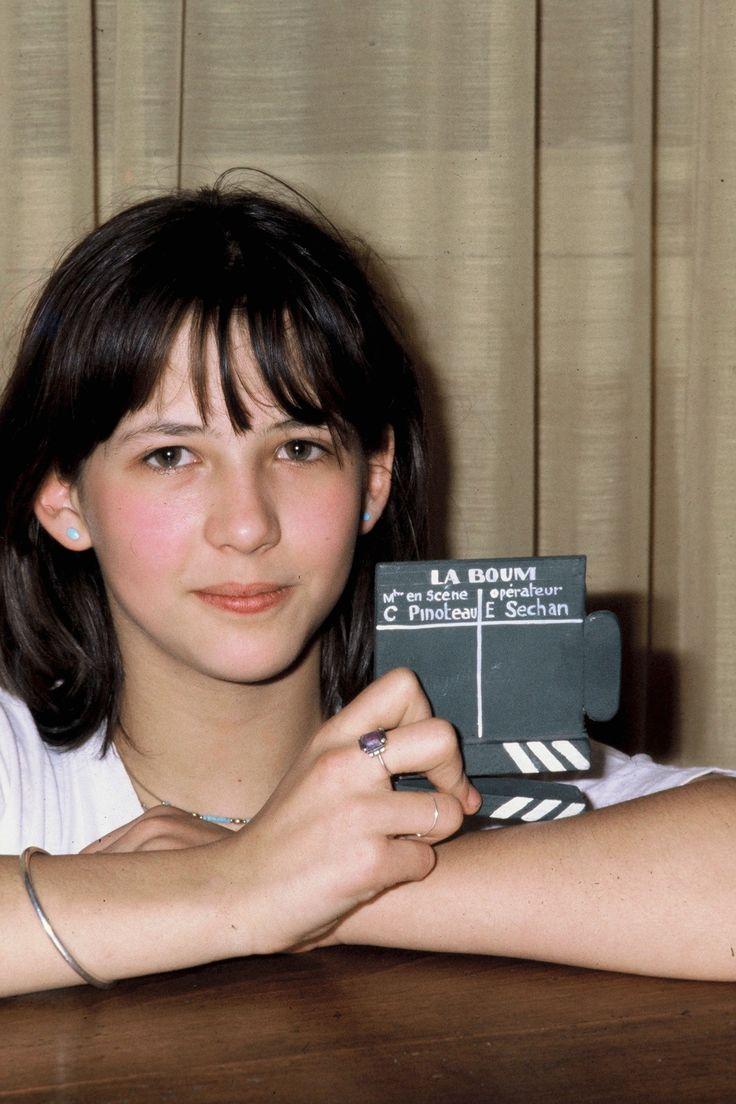 Sophie Marceau at 14, photographed by François Gaillard on the set of LA BOUM (1980)