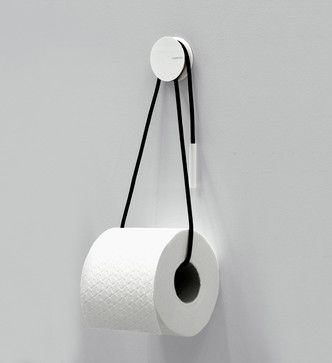 Diabolo Toilet Paper Holder by Vandiss contemporary bathroom storage