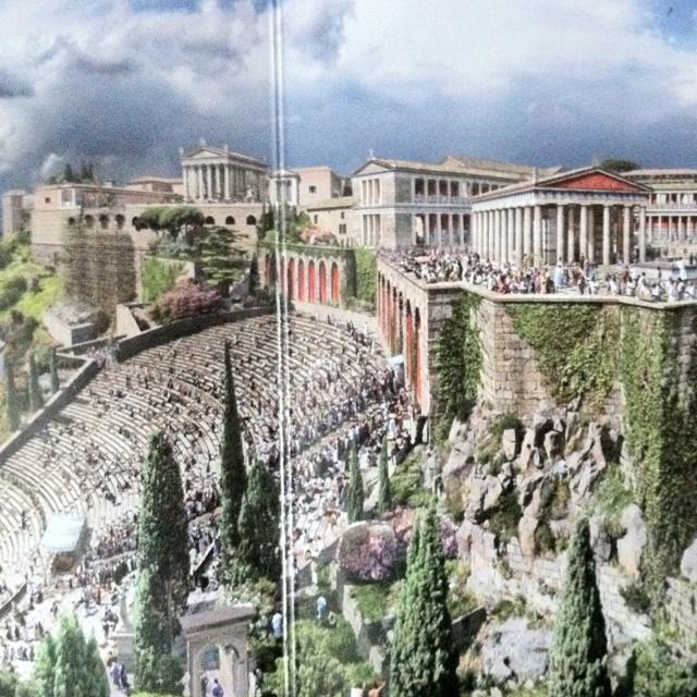 Panoramic Exhibition of Assisi Pergamon Museum AMAZING!