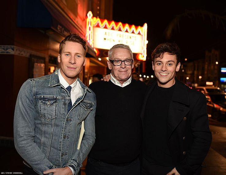 Dustin Lance Black, Cleve Jones, Tom Daley