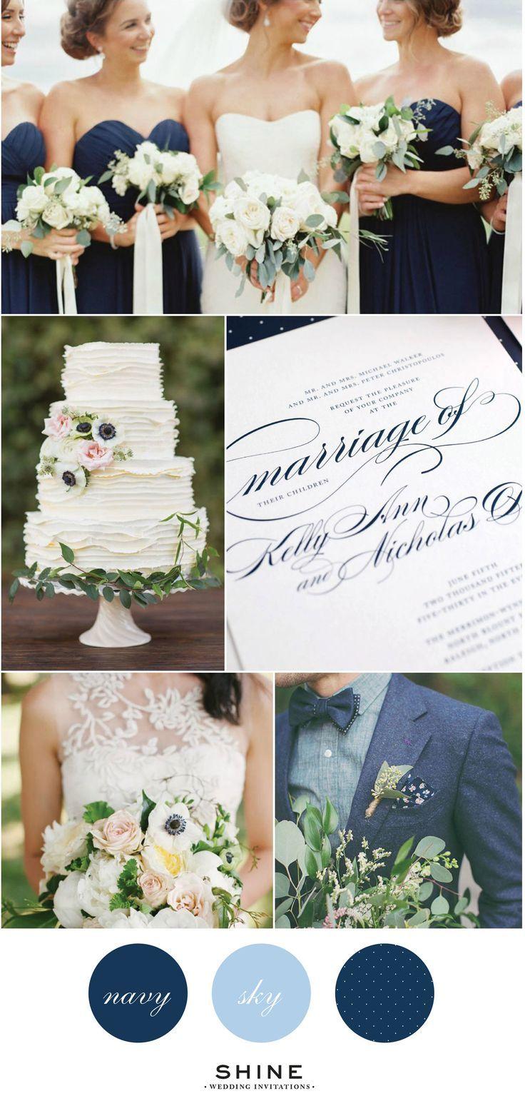 Elegant Navy Wedding Inspiration