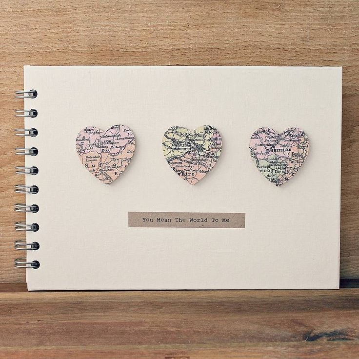 Small Hearts Personalised Memory Book
