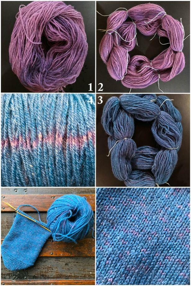 Handspun Naturally Dyed Wool Yarn