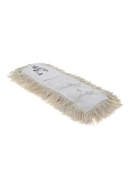 "Cotton Value  Tie-On-5""  Dust Mop (Untreated): Cotton Value Tie-on 5"" Dust Mop - untreated"