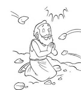 stoning of stephen children's lesson - Bing images