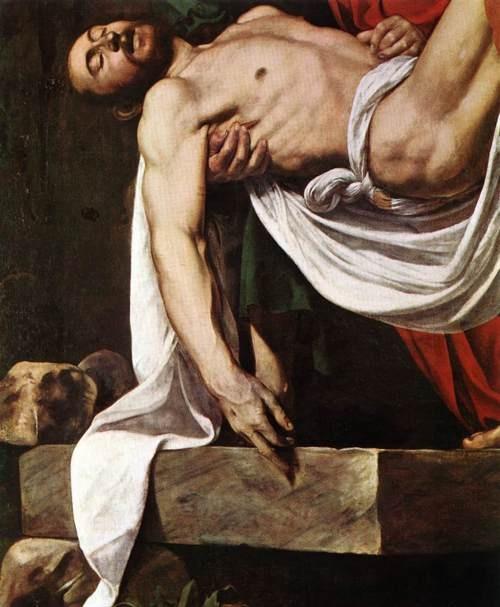 The Entombment (detail), Caravaggio