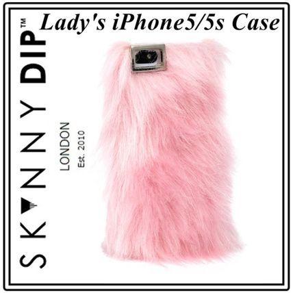 もこもこだー! 触りたい! iphone5 5sケース skinnydip 即納