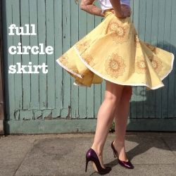 Circle Skirt Maths - Explained!