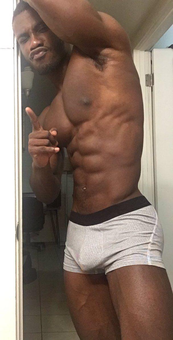 black male bulge